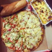 Bạn nào muốn mix 2 vị trên 1 bánh pizza bên mình cũng yêu thương mà chiều tới cùng luôn nhé ạ 😍 nhưng mix 2 nhân chỉ đc với size M và L nha mọi người 😆😆