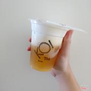 Peach tea Macchiato size S 48k