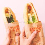 Bánh mỳ chả cá 😍 bánh mỳ gà choii