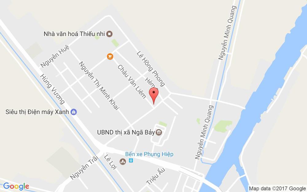 Vị trí bản đồ 80 Phạm Hùng, P. Ngã Bảy Thị xã Ngã Bảy Hậu Giang