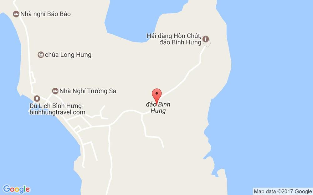 Vị trí bản đồ Xã Cam Bình Tp. Cam Ranh Khánh Hoà