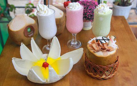 Dừa- Rau câu dừa