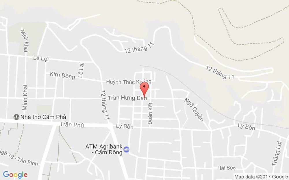Vị trí bản đồ 63 Trần Hưng Đạo Tp. Cẩm Phả Quảng Ninh