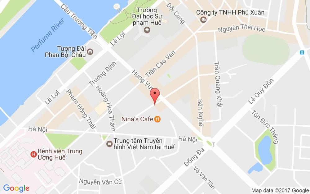 Vị trí bản đồ 10/34 Nguyễn Tri Phương  Tp. Huế Huế