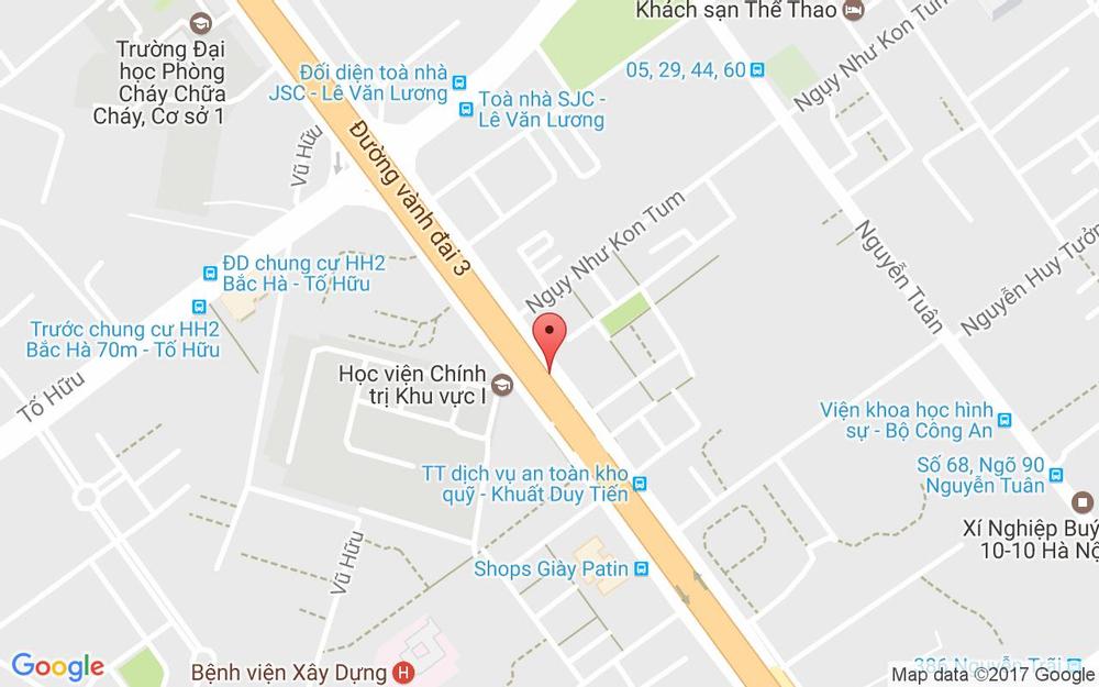 Vị trí bản đồ 142A Khuất Duy Tiến Quận Thanh Xuân Hà Nội