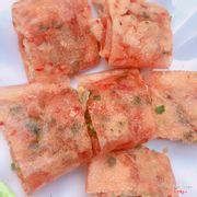 Bánh tráng đỏ nướng