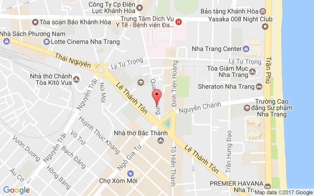 Vị trí bản đồ 102 Quang Trung Tp. Nha Trang Khánh Hoà
