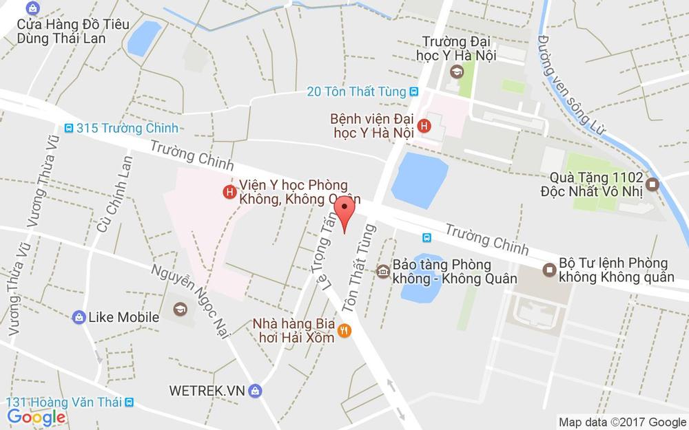 Vị trí bản đồ Tòa Nhà Artemis, 3 Lê Trọng Tấn Quận Thanh Xuân Hà Nội