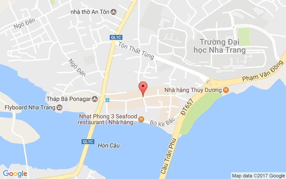 Vị trí bản đồ 91 Tháp Bà Tp. Nha Trang Khánh Hoà