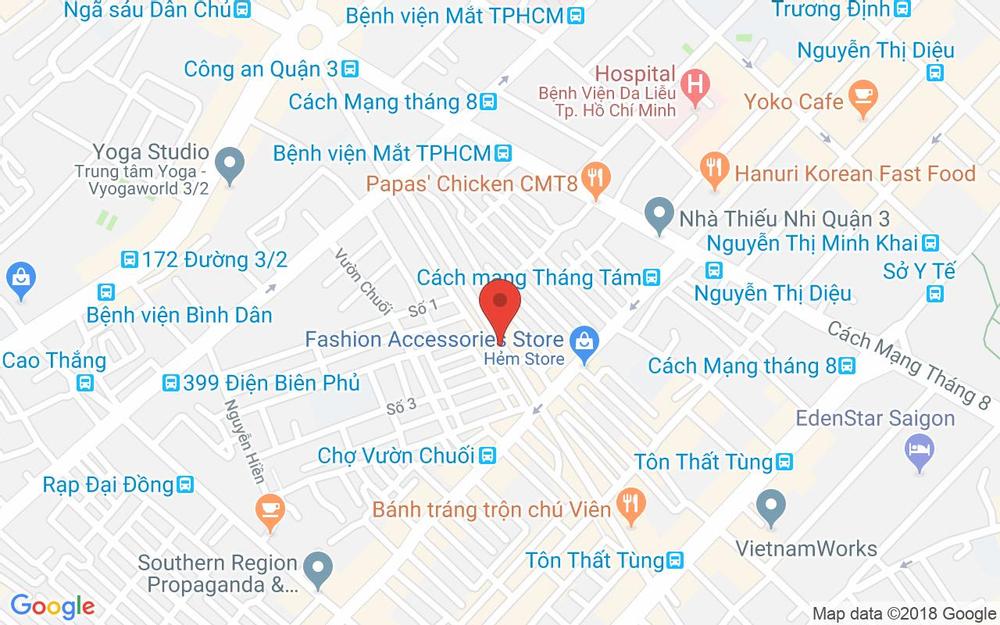 Vị trí bản đồ 177 Nguyễn Thượng Hiền, P. 4 Quận 3 TP. HCM