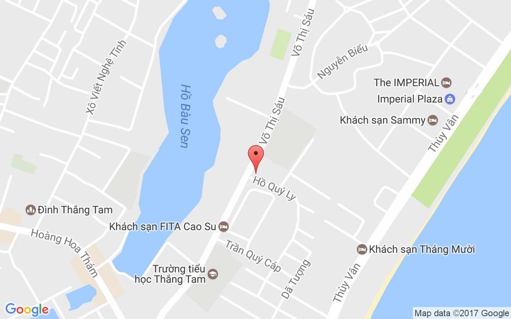 Vị trí bản đồ Ruby Apartment 02 VIP ở Vũng Tàu