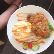 Cơm gà Tempura