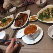 Bữa cơm rất thịnh soạn :))