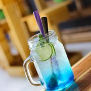 Soda Blue curacao  18k