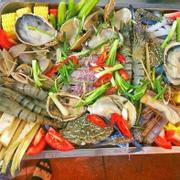 Lẩu khay hải sản (to)