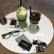 Latte & matcha