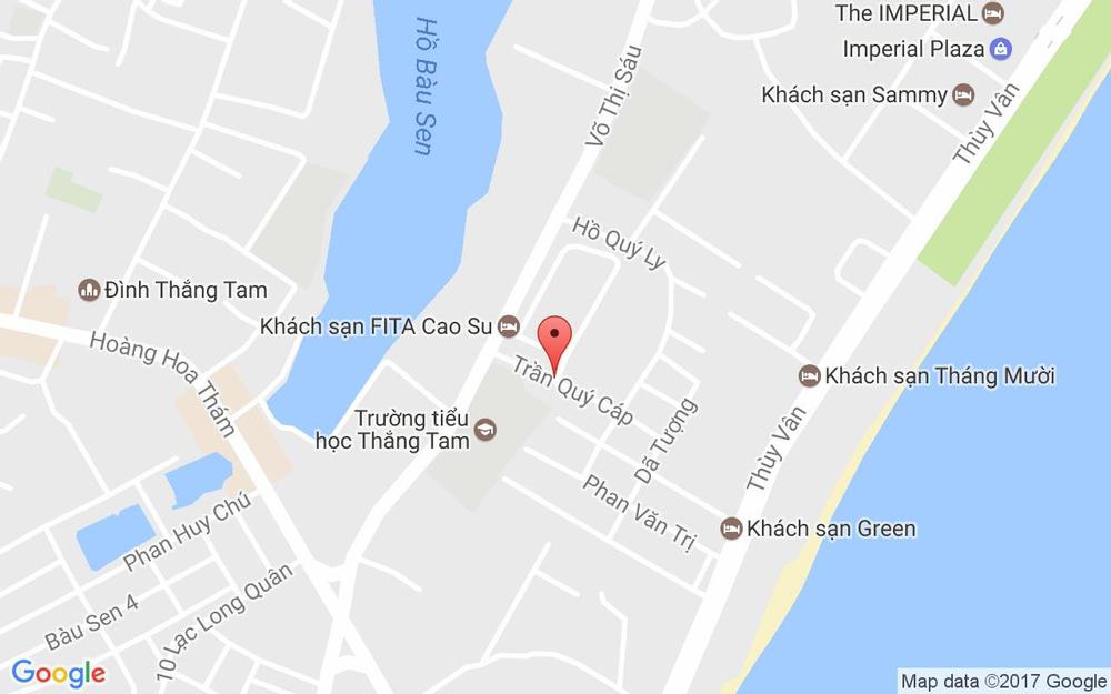 Vị trí bản đồ Tố Nga Hotel ở Vũng Tàu