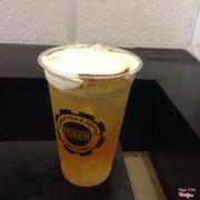 Hồng trà Oolong Macchiato Bánh Flan - 32k