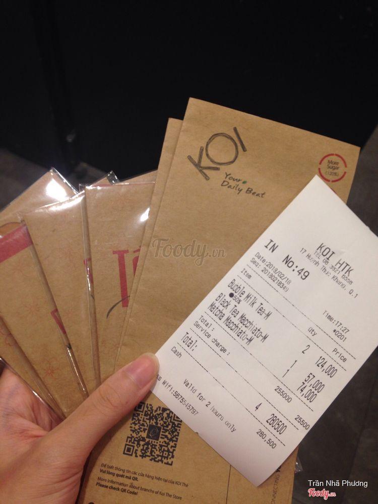 Koi Thé Café - Huỳnh Thúc Kháng ở TP. HCM