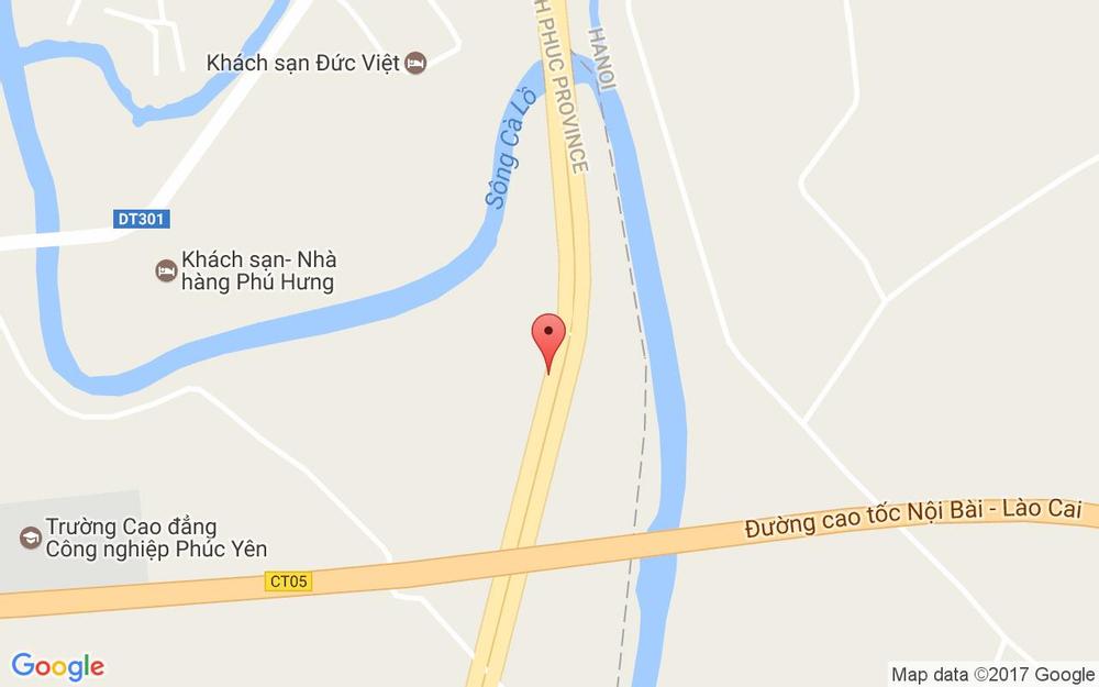 Vị trí bản đồ The TRÀ - Bubble Tea Room ở Vĩnh Phúc