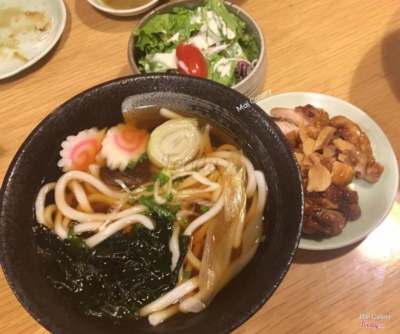 Udon gà teriyaki 75.000₫