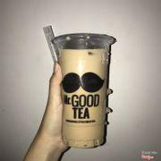 Trà sữa Mr. Good Tea size L với trân châu trắng
