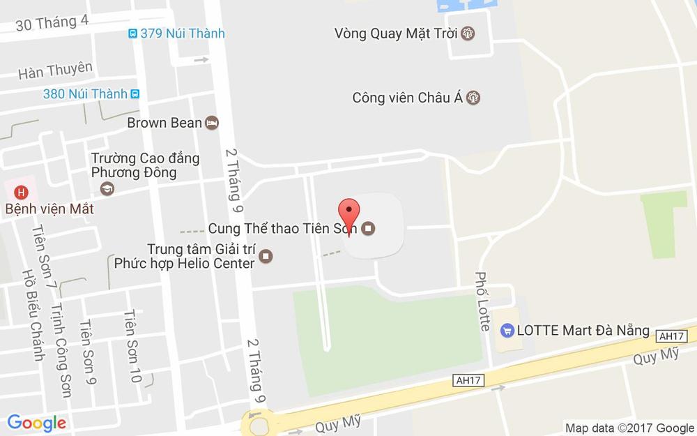 Vị trí bản đồ 3 Phan Đăng Lưu Quận Hải Châu Đà Nẵng