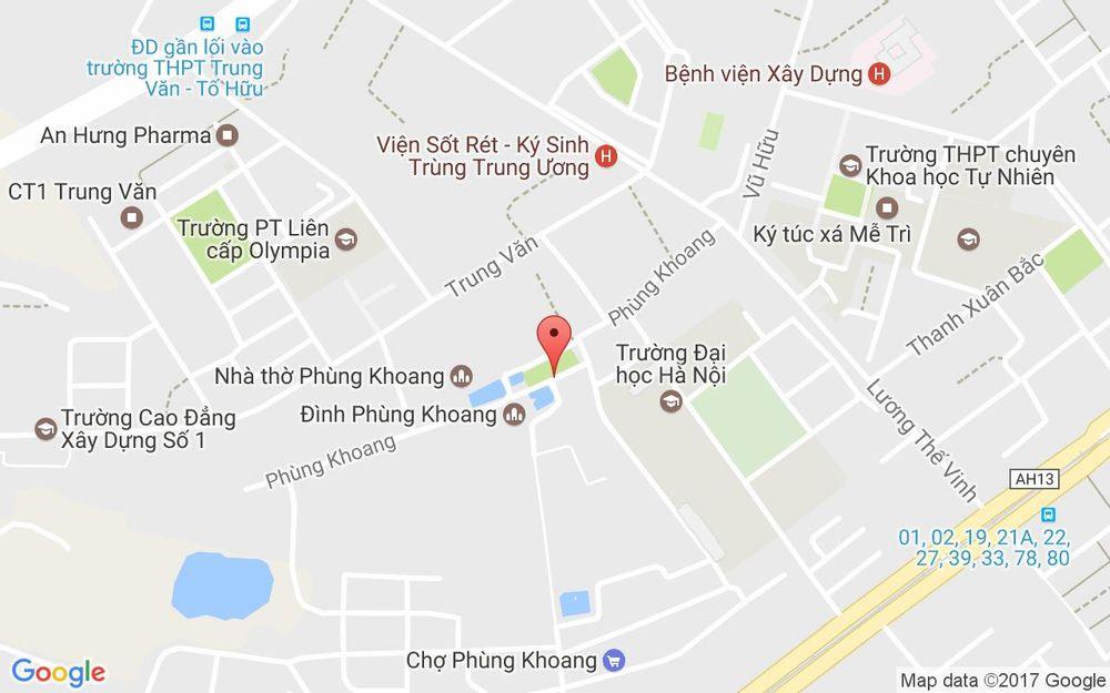 Vị trí bản đồ 51 Phùng Khoang Quận Thanh Xuân Hà Nội