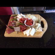 Cheese and coldcut plate