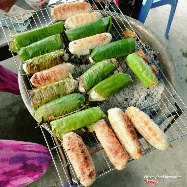 Chuối Nướng ở Khánh Hoà