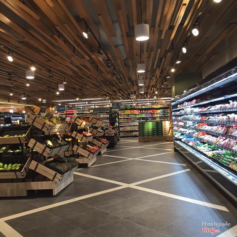 Khu siêu thị tự chọn