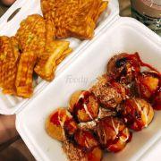 Bánh cá và Takoyaki nè