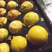 Những viên bánh Takoyaki (bánh bạch tuộc) thơm ngon nóng hổi 😍😍😍