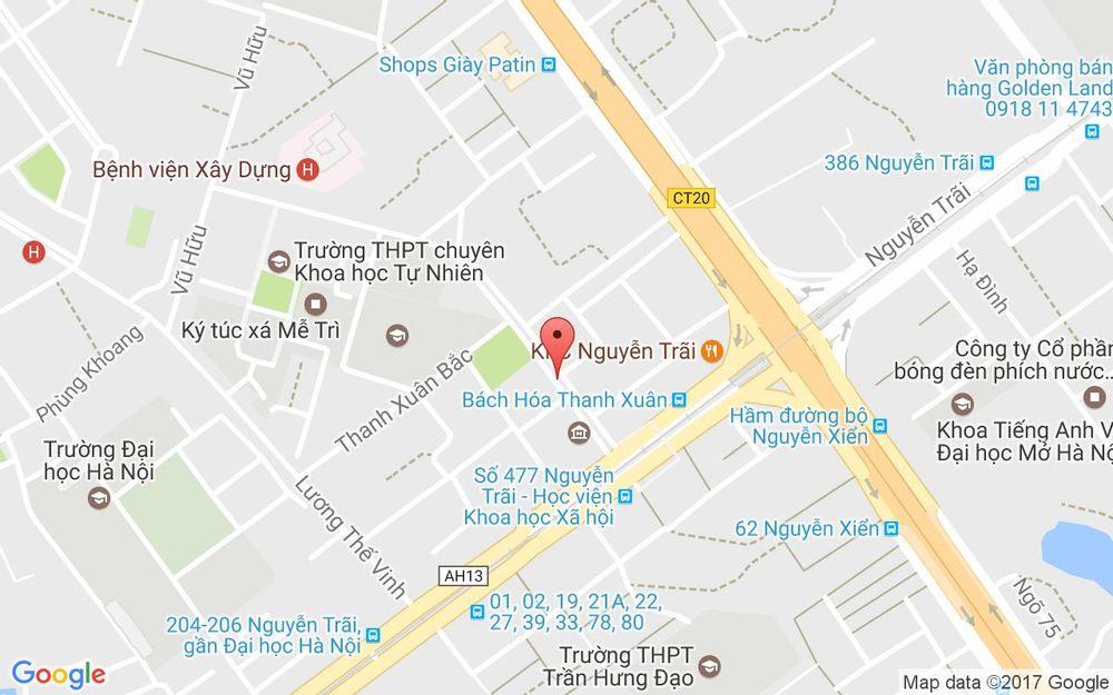 Vị trí bản đồ 5 Nguyễn Quý Đức, P. Thanh Xuân Bắc Quận Thanh Xuân Hà Nội