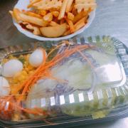 Khoai tây và salad