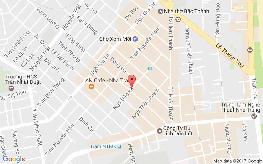 Vị trí bản đồ Ngô Đức Kế Tp. Nha Trang Khánh Hoà