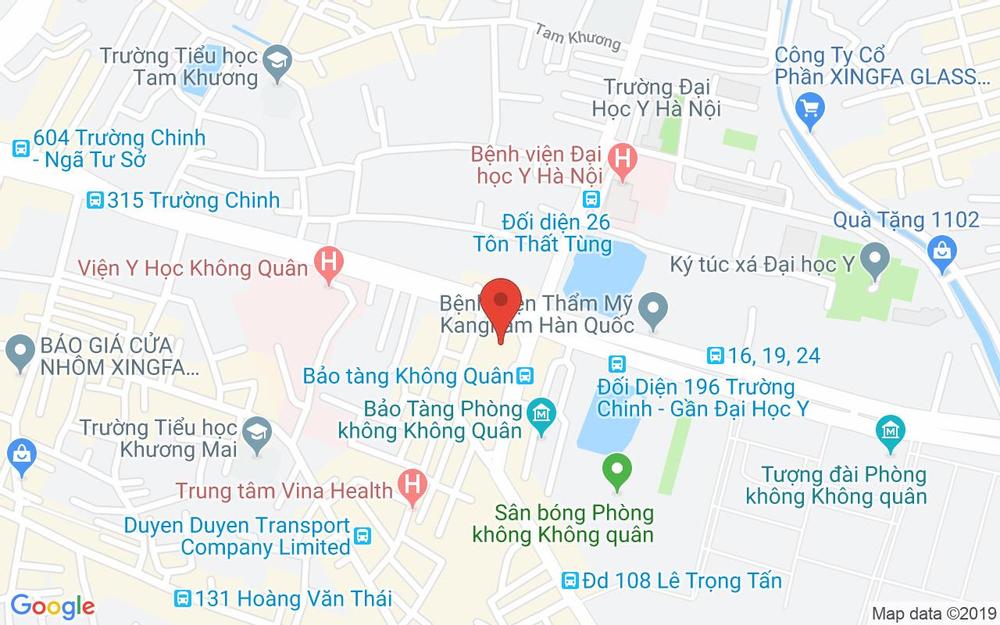 Vị trí bản đồ Tầng 4, Tòa Nhà Artemis, 3 Lê Trọng Tấn Quận Thanh Xuân Hà Nội