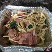 Mì Ý cay với thịt xông khói
