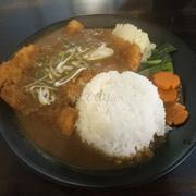 Cơm cà ri thịt heo chiên