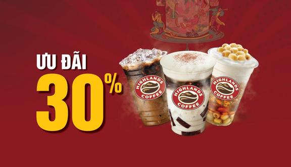 Highlands Coffee - Vincom Saigonres