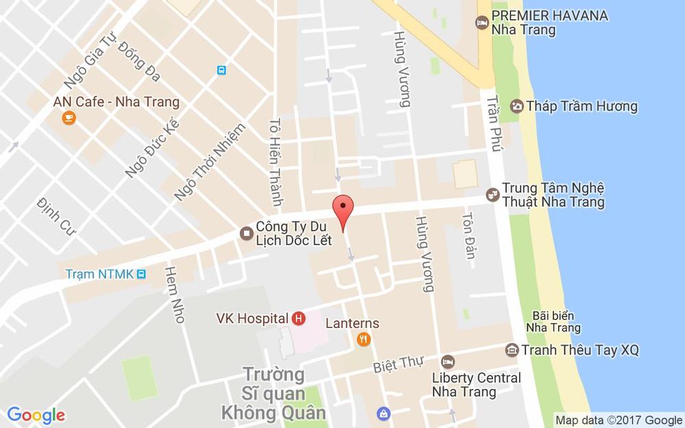 Vị trí bản đồ 30 Nguyễn Thiện Thuật Tp. Nha Trang Khánh Hoà