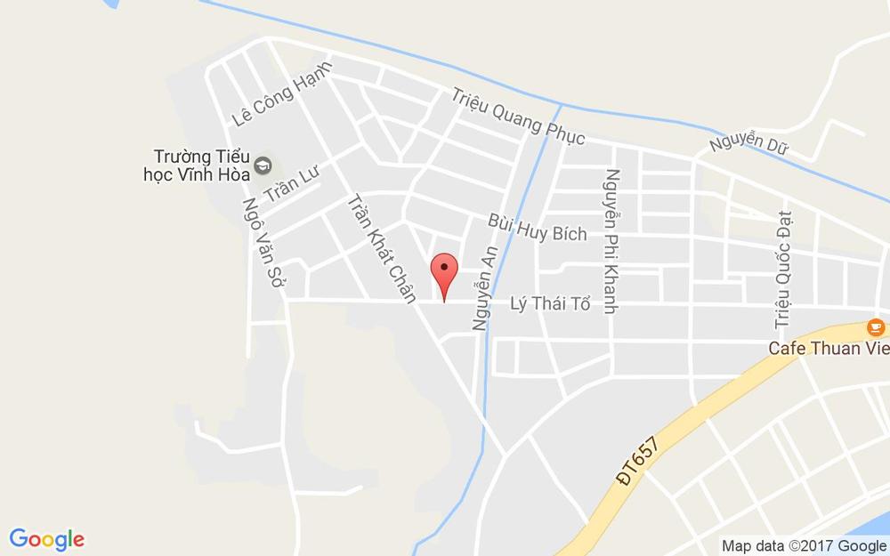 Vị trí bản đồ 6 Lý Thái Tổ, P. Vĩnh Hòa Tp. Nha Trang Khánh Hoà