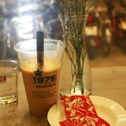 Hồng trà sữa + xí muội