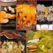 Sushi - bạch tuộc bự chà bá - nấm ăn lẩu nhé . Đồ ăn qá trời