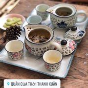 Mình uống 1 trà lài và 1 trà bách hoa