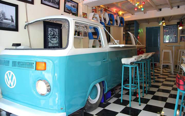 Vespa Sofar - Bar Saigon