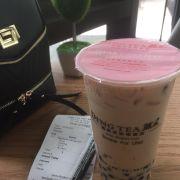 Signature milk tea - pearl - pudding - 1/2 S - size L > total 49k