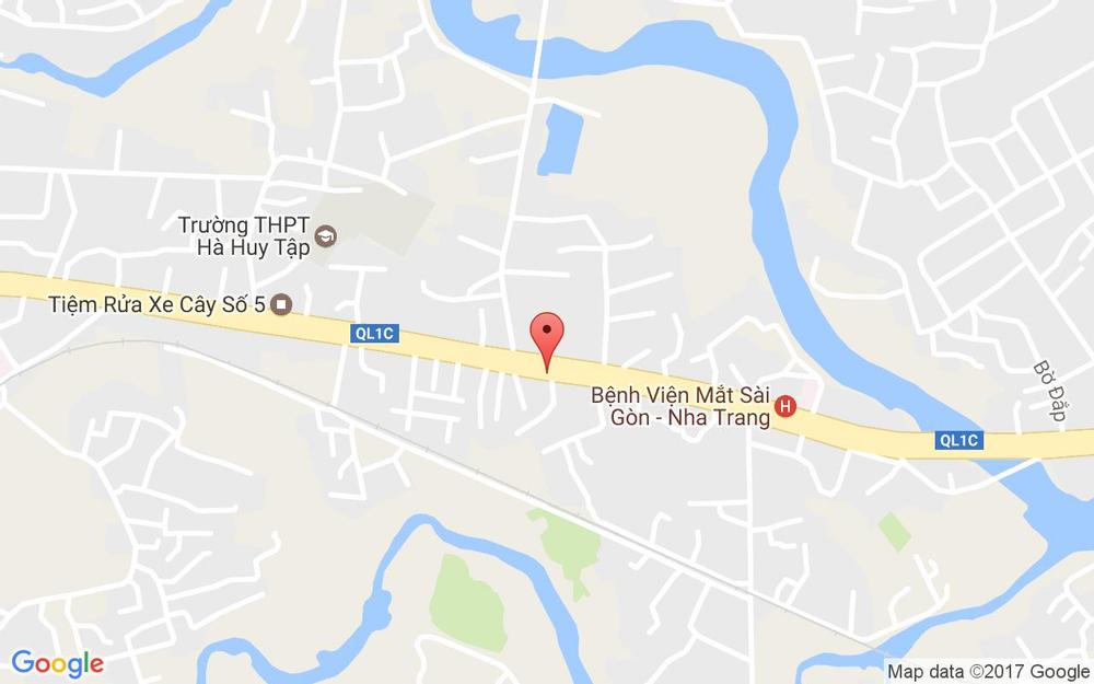 Vị trí bản đồ 557 Đường 23 Tháng 10 Tp. Nha Trang Khánh Hoà