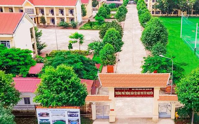 Trường Phổ Thông Dân Tộc Nội Trú Tây Nguyên