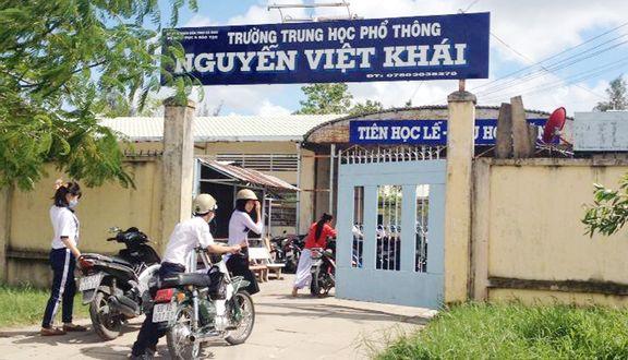 Trường THPT Nguyễn Việt Khái